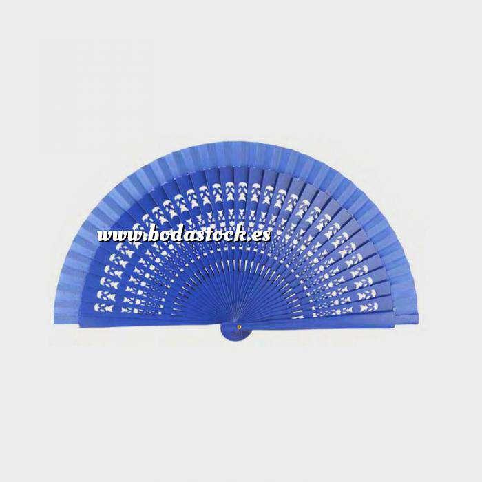 Imagen Abanico Calado 19 cm Abanico Calado 19 cm AZUL FRANCIA (Últimas Unidades)-R