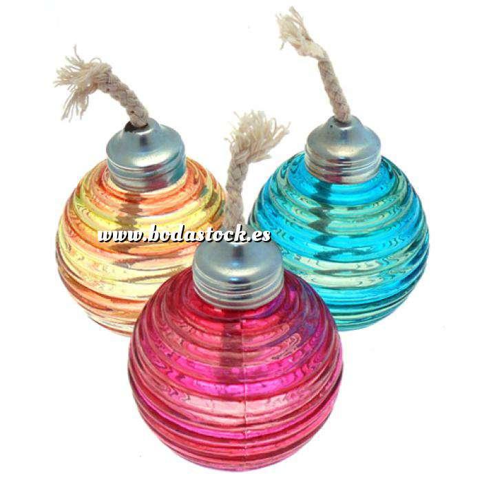 Imagen Baño y aromas Vela de Aceite varios colores (Últimas Unidades)
