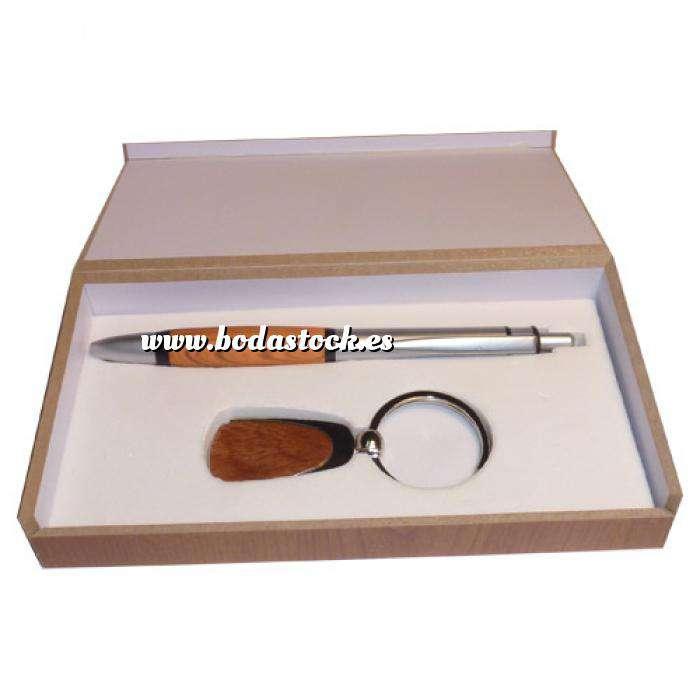 Imagen Boligrafos Bolígrafo con llavero Modelo 3 (Últimas Unidades)