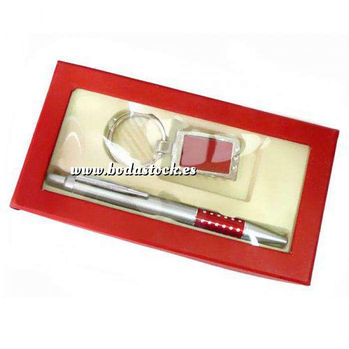 Imagen Boligrafos Boligrafo y llavero en caja roja (Últimas Unidades)