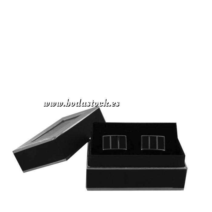 Imagen Para Hombre Gemelos Ref.10 en caja plateada forrada (Últimas Unidades)