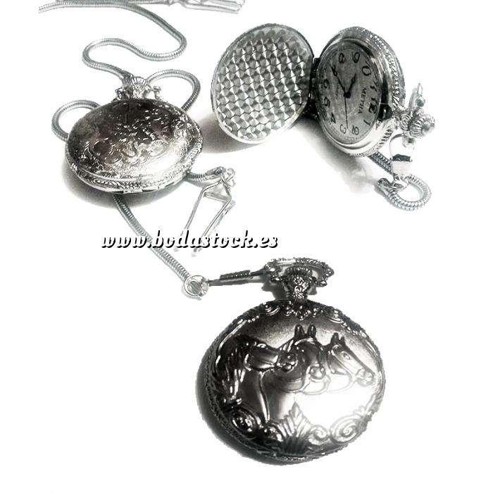 Imagen Relojes de Bolsillo Reloj de bolsillo - Grande - Caballos (Últimas Unidades)
