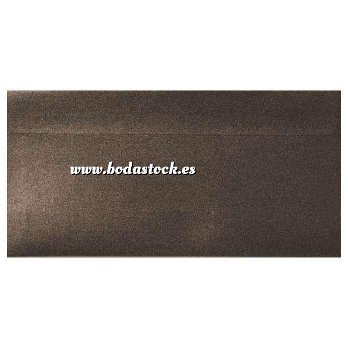 Imagen Sobre Americano DL 110x220 Sobre Perlado marrón DL (Bronce)