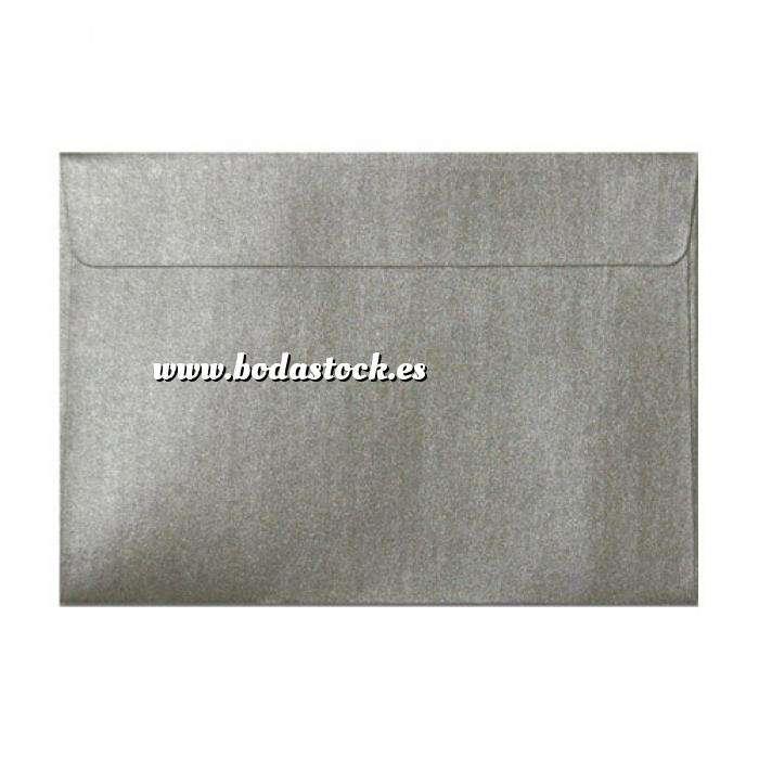 Imagen Sobres C5 - 160x220 Sobre Perlado Plata c5