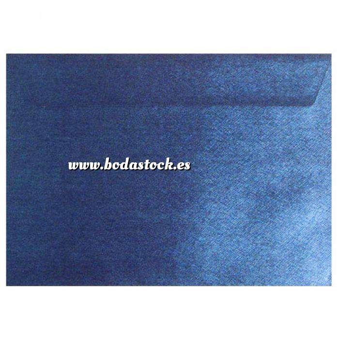 Imagen Sobres C5 - 160x220 Sobre textura azul c5 (Azul Real)