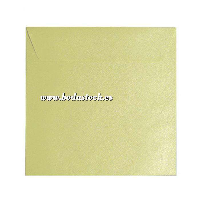 Imagen Sobres Cuadrados Sobre textura verde Cuadrado - Verde Haba