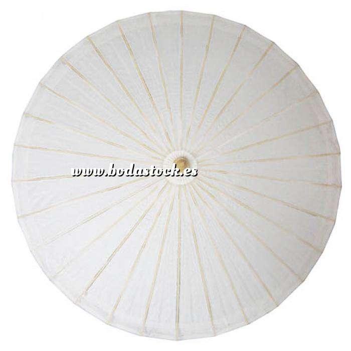 Imagen Sombrillas Sombrilla Japonesa Blanca SIN dibujos