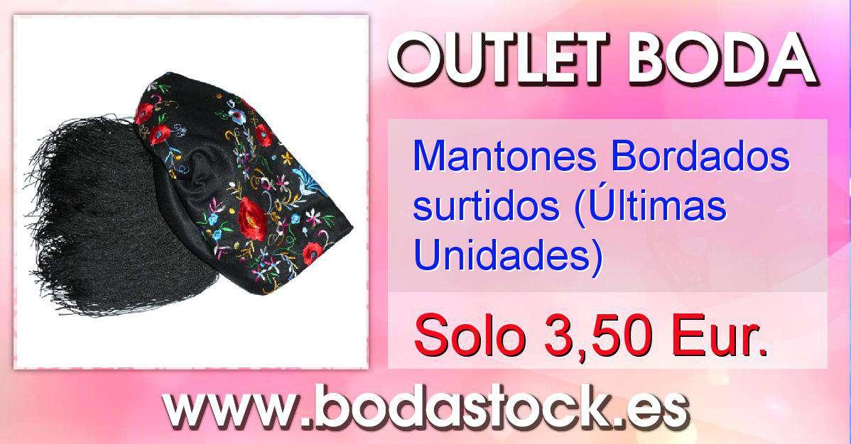 b44c900ad Mantones Bordados surtidos (Últimas Unidades)