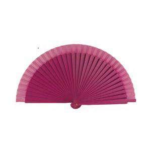 Abanico Liso 19 cm - Abanicos Lisos 19 cm FUCSIA (Últimas Unidades)-R