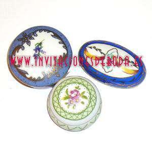 Espejos, Joyeros y Bisuteria - Caja Porcelana de Colección Surtidas