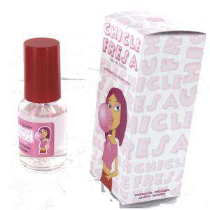 Mini Perfumes Mujer - Fragancia Dulce Eau de toilette - Chicle Fresa 20ml. (Últimas Unidades)