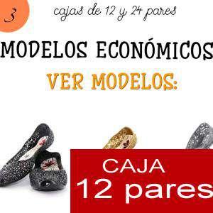 Imagen Modelos Economicos Manoletinas Melissa M.273 SILVER - Lote de 12 pares (Tallaje 2) TALLAJE 36 a 39 (Últimas Unidades)