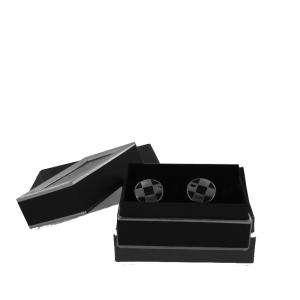 Para Hombre - Gemelos Ref.08 en caja plateada forrada (Últimas Unidades)