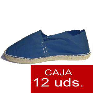 Para Niño - Alpargatas Niño color MARINO LOTE de 12 uds (tallas 28-34)
