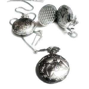 Relojes de Bolsillo - Reloj de bolsillo - Grande - Caballos (Últimas Unidades)