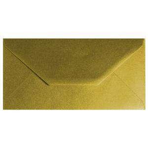 Sobre Americano DL 110x220 - Sobre Dorado Metálico DL