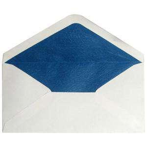 Sobres Forrados - Sobre Beige DL forro fantasía azul (Últimas Unidades)