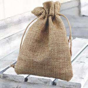 Bolsas de Yute 13x18 cm - Bolsa de Yute Natural TONO OSCURO 13x18 capacidad 12x15 cms.