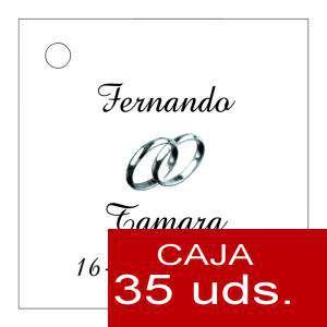 Etiquetas impresas - Etiqueta Modelo B08 (Paquete de 35 etiquetas 4x4)