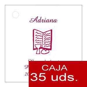Etiquetas impresas - Etiqueta Modelo C18 (Paquete de 35 etiquetas 4x4)
