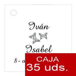 Etiquetas impresas - Etiqueta Modelo D02 (Paquete de 35 etiquetas 4x4)