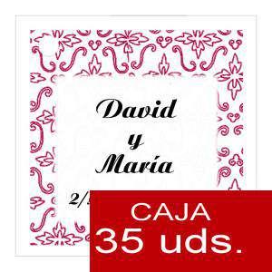 Etiquetas impresas - Etiqueta Modelo D12 (Paquete de 35 etiquetas 4x4)