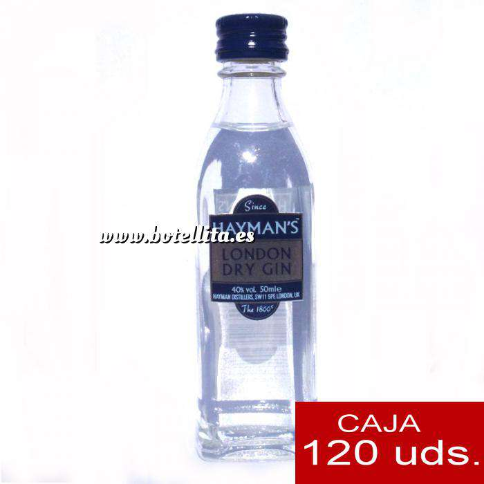 Imagen Ginebra Ginebra Gin Hayman´s London Dry Gin 7cl CAJA DE 120 UDS