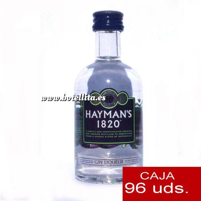 Imagen Ginebra Ginebra Gin Liqueur Hayman´s 1820 CAJA DE 96 UDS