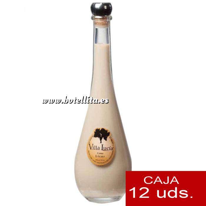 Imagen Licores, orujos y crema Crema de Licor Villa Lucía RAQUEL 10 cl. CAJA DE 12 UDS (Últimas Unidades)