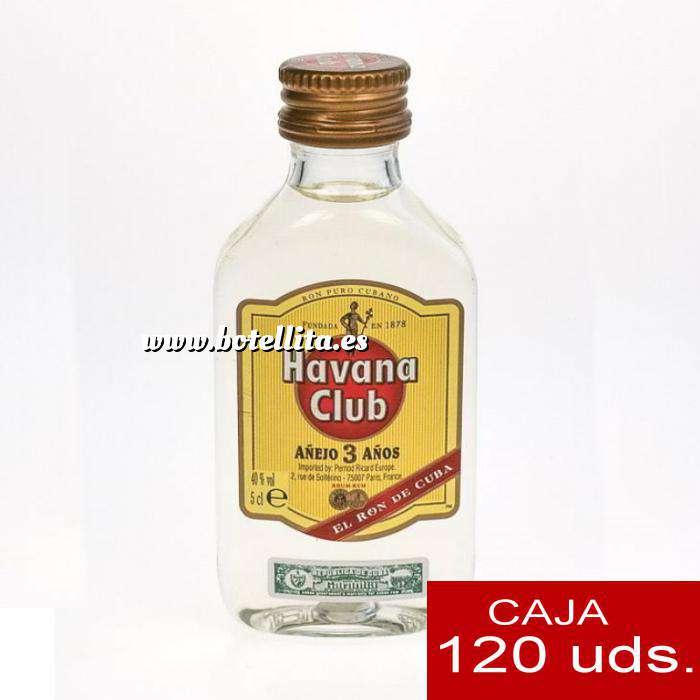 Imagen Ron Ron Havana Club AÑEJO 3 AÑOS 5cl - CAJA 120 UDS
