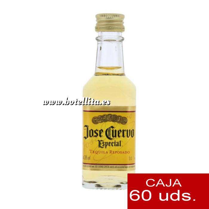 Imagen Tequila Tequila Jose Cuervo Especial Tequila Reposado 5cl CAJA DE 60 UDS
