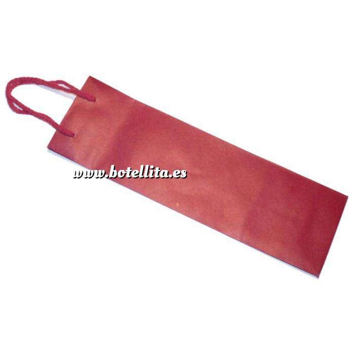 Imagen Vino Bolsa Papel para Vino Rojo Grande (32.5 x 10 cm)