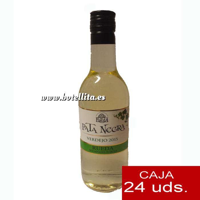 Imagen Vino Vino Pata Negra Rueda Blanco Verdejo 18.7 cl CAJA COMPLETA 24 UDS
