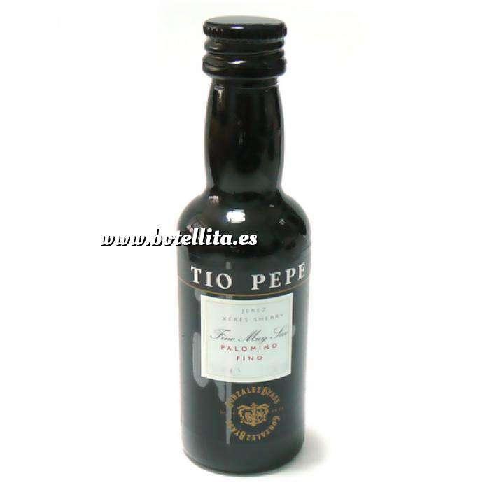 Imagen Vino Vino Tío Pepe Jerez 5cl (Envase de Plástico) (Últimas Unidades)