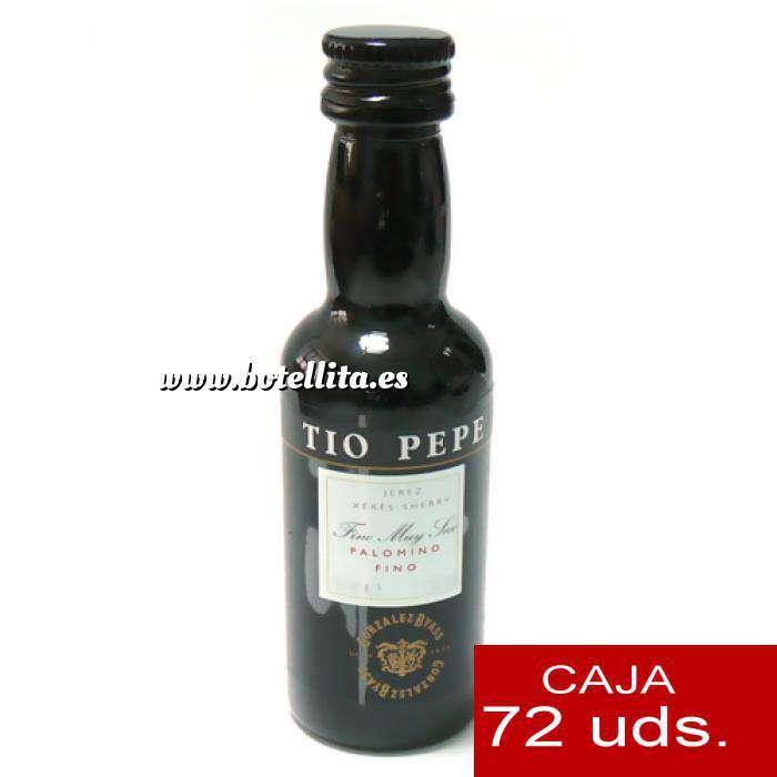 Imagen Vino Vino Tío Pepe Jerez (Envase de Plástico) CAJA DE 72 UDS