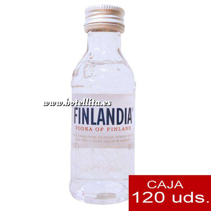Imagen Vodka Vodka FINLANDIA 5cl. CAJA 120 UDS