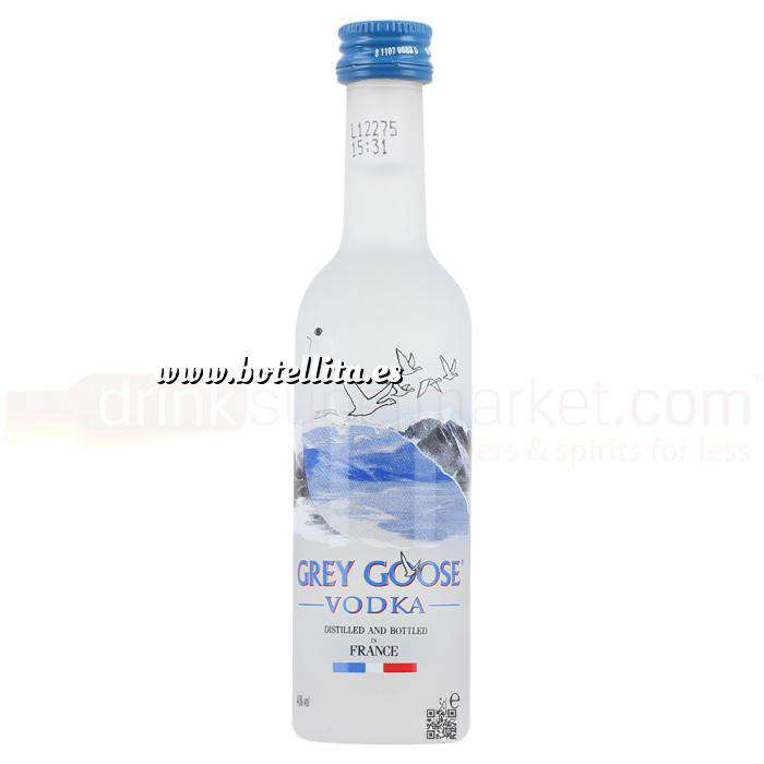 Imagen Vodka Vodka Grey Goose 5cl (OFERTA PREMIUM 2019)