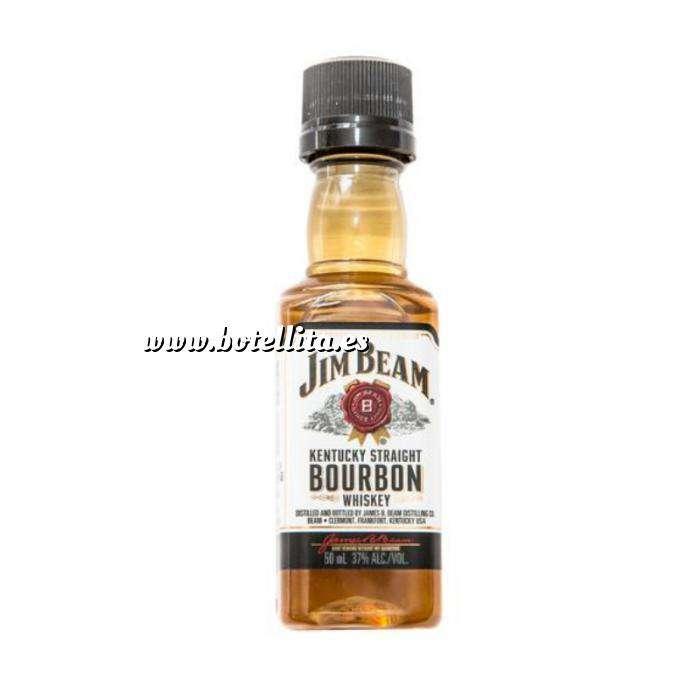 Imagen Whisky Bourbon Jim Beam KENTUCKY STRAIGHT (Tapón Negro)