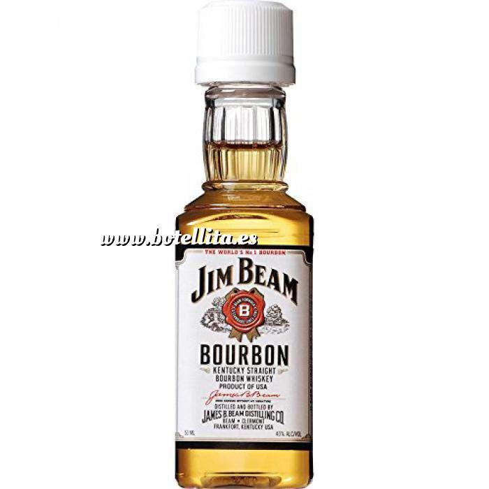 Imagen Whisky Bourbon Jim Beam (Tapón Blanco)