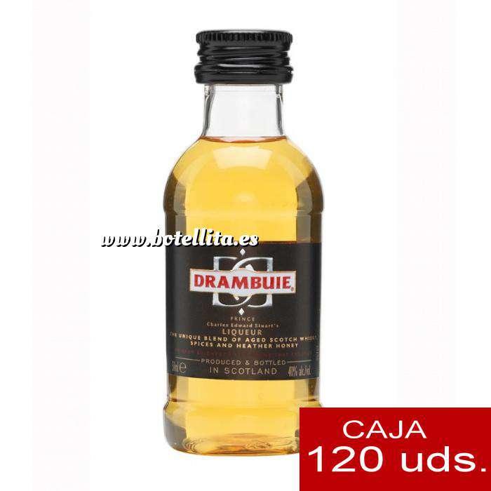 Imagen Whisky Licor Escocés Drambuie 5cl CAJA DE 120 UDS