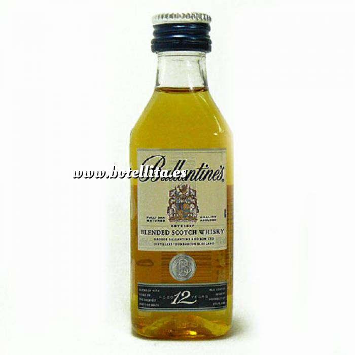 Imagen Whisky Whisky Ballantines 12 Blend 4cl (Últimas Unidades)
