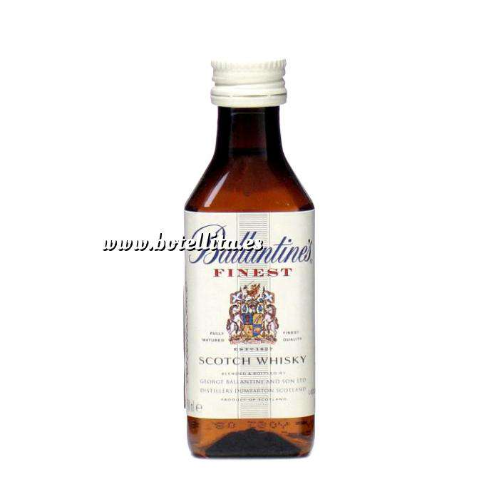Imagen Whisky Whisky Ballantines Finest 5cl