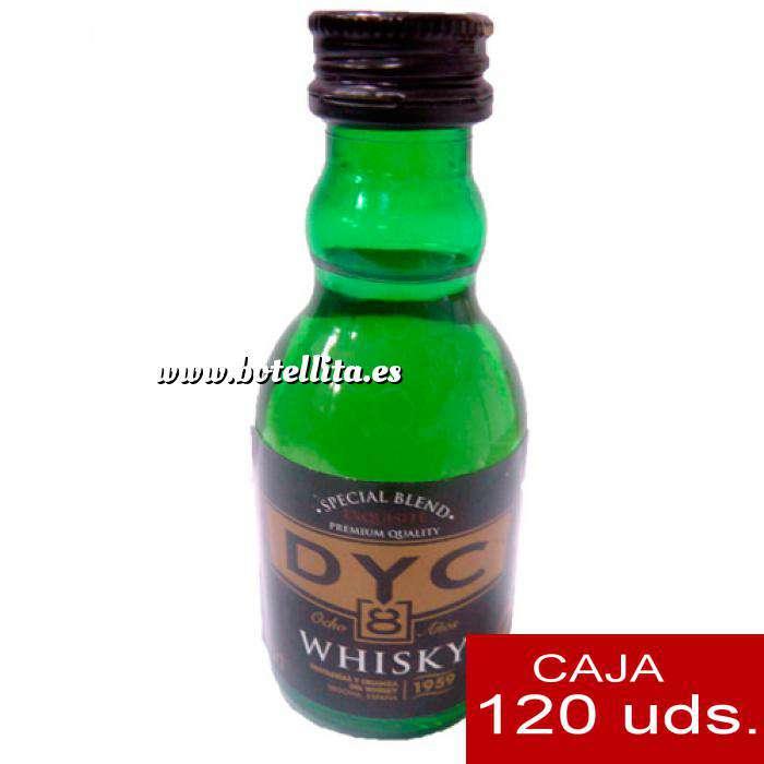 Imagen Whisky Whisky DYC 8 años. 5cl CAJA DE 120 UDS