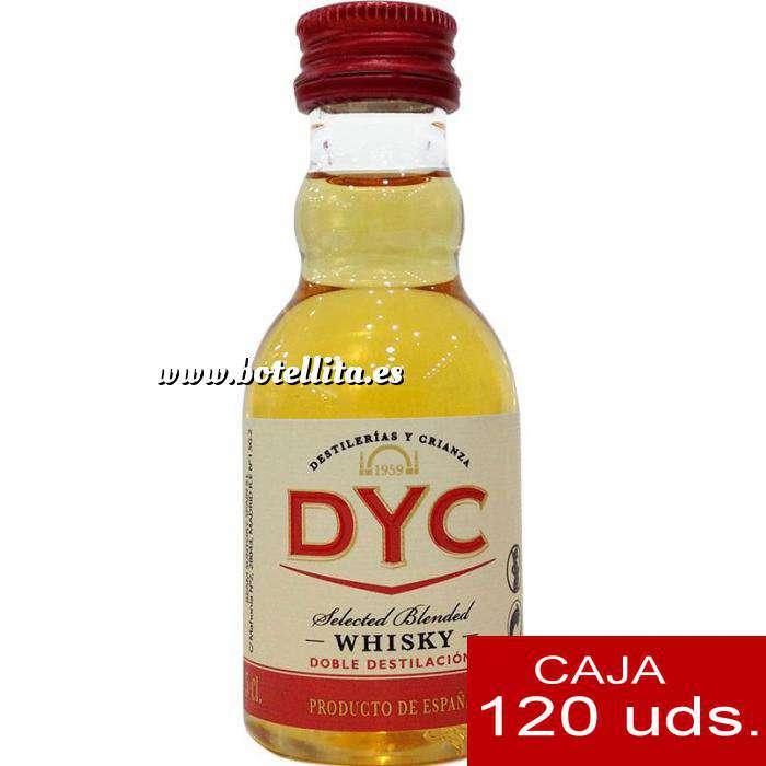 Imagen Whisky Whisky DYC Selected Blended Caja de 120 uds.