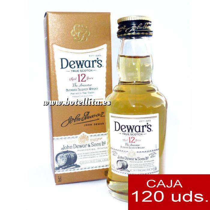Imagen Whisky Whisky Dewar´s White Label 12 años ed. Especial CAJA DE 120 UDS