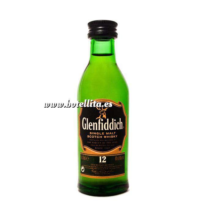 Imagen Whisky Whisky Glenfiddich 12 años (sin tubo), 5cl OFERTA ESTRELLA