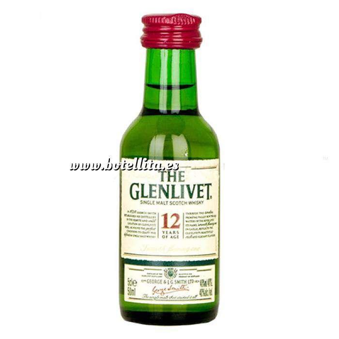 Imagen Whisky Whisky Glenlivet 12 años MALTA 5cl