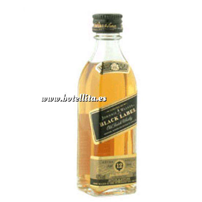 Imagen Whisky Whisky Johnnie Walker Etiqueta Negra 5cl (OFERTA 2019)