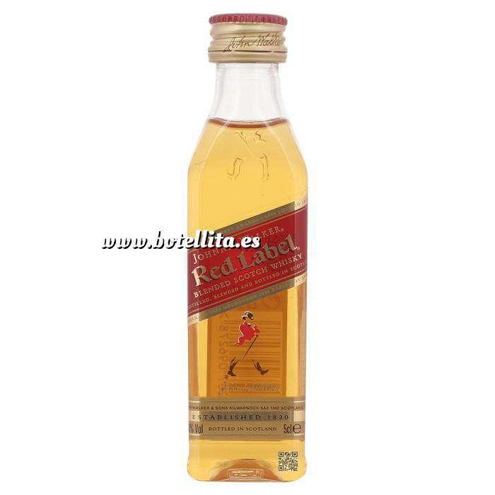 Imagen Whisky Whisky Johnnie Walker Etiqueta Roja 5cl
