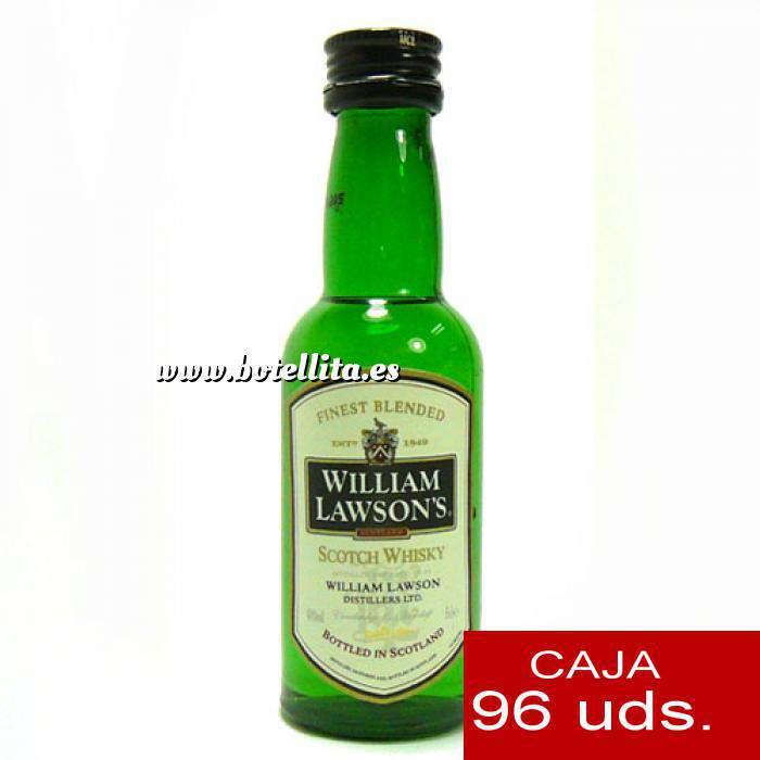 Imagen Whisky Whisky William Lawson 5cl CAJA DE 96 UDS